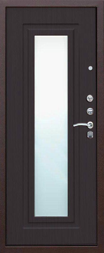 входные российские металлические двери с зеркалом